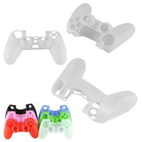 Wholesale Soft Silicone Rubber Gel Cover Case For Sony Playstation PS4 PS Controller Brand New