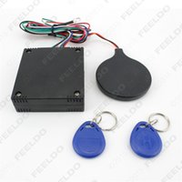 Wholesale 10set Motorcycle bicycle alarm induction IC card upgrade intangible lock anti theft lock control system quality guaranteed