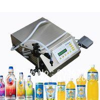 machine oil machine - DHL FEDEX Manual Electric Digital control pump liquid filling and sealing machine ml oil wine milk juice