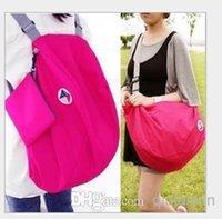 Wholesale 2014 Korean version of the iconic multi functional transformation foldable storage bag shoulder bag backpack large favorably COLOR WY339