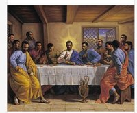 african wallpapers - The AFRICAN AMERICAN LAST SUPPER Classical Stylish Nice Home Decor Retro Poster x76cm Wall Sticker