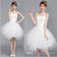 Cheap Wedding Reception Dresses Bride Short  Free Shipping ...