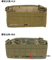 Wholesale Tactical Rattlesnake Mandrake Paintball Molle Airsoft combat Waist Padded Belt with H shaped Suspender Adjustable Nylon Cummerbunds