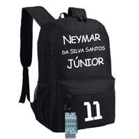 Wholesale Waterproof Neymar backpacks Barcelona sport bags kids schoolbag for teenage girls boys bookbags designer backpack printed