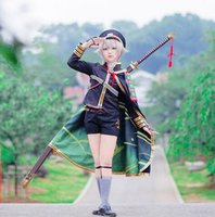 armor online - Hotarumaru Cosplay Touken Ranbu Online Polyester Costume With Armor Hat Socks Cloak