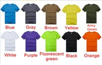 t-shirt bags - Cheap Men s sports outdoor Comfort Unlimited quick drying T shirt Cycling Crew Neck shirt Colors with OPP bags packaging