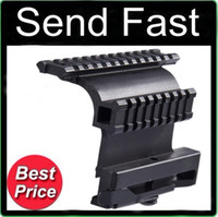 ak series - Tactical AK Series Double Picatinny Weaver Rails QD Side Mount Quick Release Style fit accessories