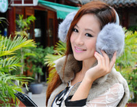 Cheap Wholesale-Polka dots add winter whimsy to tech-savvy earmuffs that feature built-in speakers compatible with most audio and phone devices