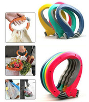 Wholesale Soft One Trip Grip Handle Shopping Bag carry device Convenience locks bags Grip Holder Handle