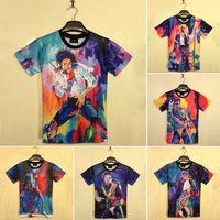 michael jackson - New personality pattern Summer Michael Jackson D T shirt Star Tank top Vest Summer D clothes MJ Star T shirt