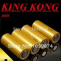 Wholesale Original KingKong v mah lithium ion li ion Rechargeable battery Cell for Flashlight E cigarette
