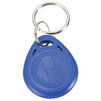 Excelente calidad legible RFID 125Khz Proximidad tarjeta de identificación Token Tag clave Keyfobs Key Fobs Cadena Azul