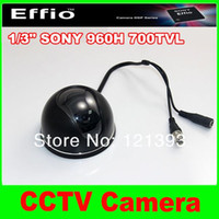 ccd dome camera - 1 quot Sony CCD TVL Waterproof IR mm lens CCTV Surveillance Mini Video Dome Camera