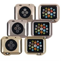 Wholesale Wearable Devices Accessories For Apple Watch Case iWatch Electroplate TPU Cover mm Luxury Metal Vision Smart Watch Colors