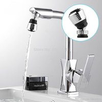 Wholesale 1pcs modern Rotate Swivel Water Bubbler Saving KitchenTap Faucet Aerator Connector Diffuser Nozzle Filter Mesh Adapter