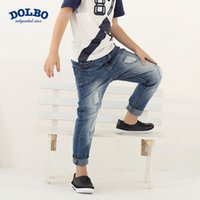 baggy jeans - High quality new baggy jeans brands boy s trousers waist jeans outdoor leisure cultivate one s morality outdoor wearing