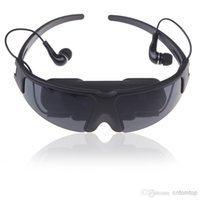 Wholesale New Arrival quot Virtual Wide Screen Digital HD Video Glasses Eyewear Mobile Private Cinema Theater V639