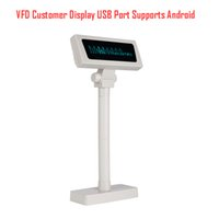 Wholesale VFD220 VFD Lines POS Customer Display High Quality Good price USB RS232 Bluetooth WIFI Interface optional