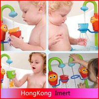 baby bath shower spray - 1PCS Favorite Lovely Baby Bath Toys Play Taps Buttressed Music Spray Shower Baby Gifts