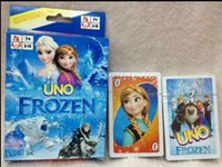 Wholesale UNO Playing Cards Game Frozen Party Family Cards For Players