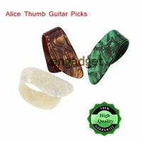 Wholesale High Quality Alice Finger Thumb Guitar Picks Plectrums Celluloid Material Guitar Parts Accessories