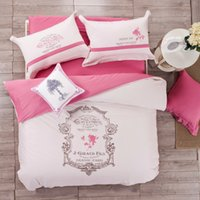 bed linen - Full Queen Size Cotton Embroidered embroidery Bohemia Exotic Boho pieces White Pink Gray Floral Prints Duvet Cover Set bed Linens bed