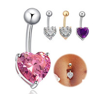 belly dance jewelry - Piercing belly ring navel ring Love belly ring body piercing jewelry belly dance nightclubs midriff navel ring