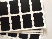 canning jars - Chalkboard Mason Jar Labels for Canning Pantry Spice Jars Freezer Waterproof Black Vinyl Chalkboard Stickers