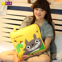 air doll - Totoro air conditioning blanket summer is cool cushion pillow cushion doll cartoon plush toy cloth doll