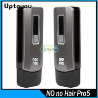 Cheap Travel Case NoNo hair Pro 5 Levels nono hair pro5 man and Women's Smart Hair Epilators Professional no no Hair Removal nonohair catcher.