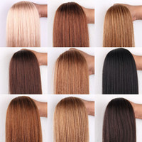 26 inch human hair extensions - 12 inches Remy Human Hair Weft Extensions Straight g Width quot Many Colors For You Choice