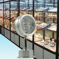 led jewelry display lighting - LED Jewelry light counter spotlight W surface mount v v lamp showcase display GUNDAM Cabinet Silver aluminum