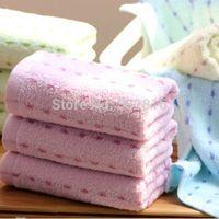 beach towels striped - Striped Bathroom Face Towel Cotton Sport Towels Kitchen Hand Towel Beach Towels x68cm