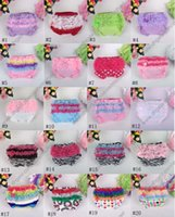 ruffle panties - 31coloursNB Baby Ruffled Knit Bloomers Ruffles Pettiskirt Panties Girls RUFFLED Bloomer Girl PP Wave Dress A001