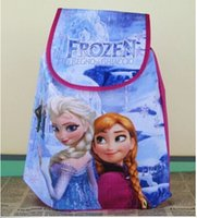 Wholesale frozen Children drawstring bag Cartoon Backpack Party Gifts bbao21