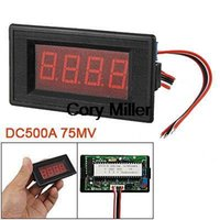 amp guage - Red LED Display Boat Guage DC A MV Amp Meter order lt no track
