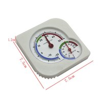 Wholesale Indoor Mini Hanging Desktop Temperature Meter Thermometer Analog Wet Hygrometer