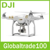 Wholesale 2015 Newest DJI Phantom Professional Drones Cameras Included K Video Megapixel Photo HD Camera Quadcopter Drone Free DHL Shipping