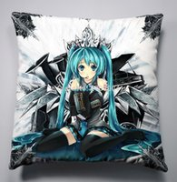 Wholesale Anime Manga Miku Hatsune VOCALOID x40cm Pillow Case Cover Seat Bedding Cushion