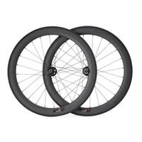 Wholesale Disc Brake Carbon Wheels C mm wider mm Clincher Carbon Fiber Road Bike Wheels