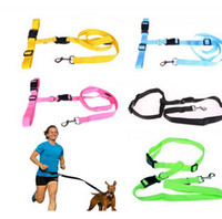 amazing pets - Amazing Running Dog Pet Products Hauling Cable Leads Collars Dog Traction Belt Dog Traction Rope Hot Selling
