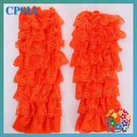 Wholesale 2015 Hot Sale Floral Girls Cotton Leg Warmers European And American Trade New Breathable Mesh Lace Baby Socks Leggings Set