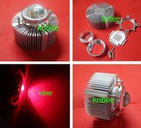 lens for cree led - 100W Watt Deep Red nm High Power LED Light Lens Reflector Heatsink Cooler W Driver For Plant Grow Light Aquarium