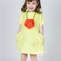 Cheap girls short sleeve dress Best childrens Dresses