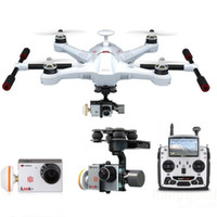 Wholesale Hot selling Walkera Scout X4 GPS RC Quadcopter Devo F12E ILook WHITE FPV2 RTF Grand Station For Boys Girls