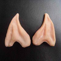 amazing points - Amazing Pair Pointed Fairy Elf Cosplay Halloween Costume Cosplay Prop Soft Latex Fake Ear Ears Practical Jokes