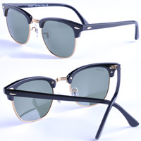 Glass alloy frames - 2015 new arrival carfia mm high quality plank frame sunglasses men women sun glasses brand designer with original box freeshipping