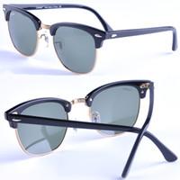 al por mayor los hombres de las gafas de sol de diseño-2017 mujeres de las gafas de sol de la vendimia nueva llegada carfia 51m m marco del tablón vidrios de sol hombres vidrios de sol marca diseñador oculos vidrios hombres w