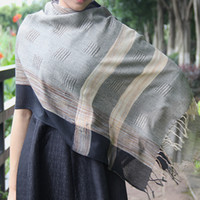 accessorize men - Black Large Long Scarf Unisex Scarves for Man and Woman Capo Poncho Fashion Hallow Accessorize Indian Style Cotton Autumn Shawl