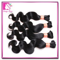 indian remy hair bulk - Best Quality Brazilian Peruvian Indian Malaysian Remy Human Hair Bulks Bundles Unprocessed Body Wave Hair Extensions